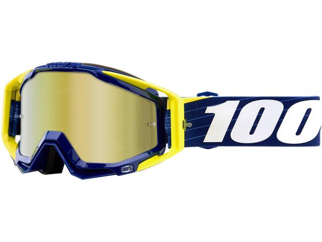 100% Racecraft Anti Fog Mirror Goggles Bibal/Navy